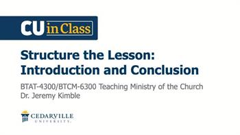 View thumbnail for Bible – Teaching Ministry of the Church
