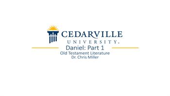 View thumbnail for Daniel: Part 1