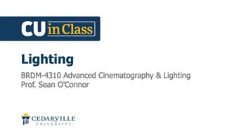 View thumbnail for Digital Media – Advanced Cinematography & Lighting