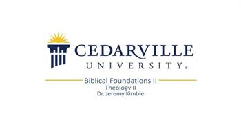 View thumbnail for Theology II: Biblical Foundations (part 2)