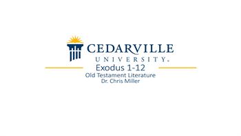 View thumbnail for Exodus 1-12