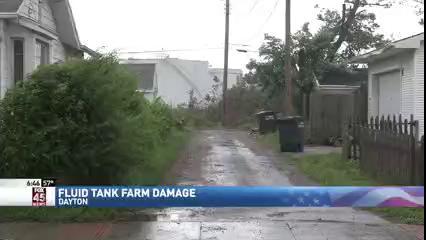 View thumbnail for Tornadoes Topple Tank Farm