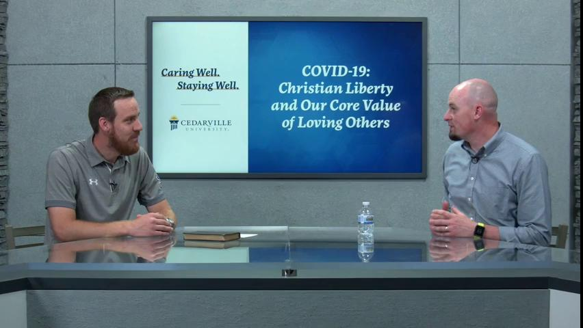 View thumbnail for Caring Well. Staying Well. | Christian Liberty and Our Core Value of Loving Others
