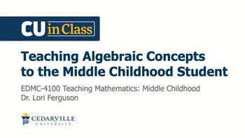 View thumbnail for Education – Teaching Mathematics: Middle Childhood