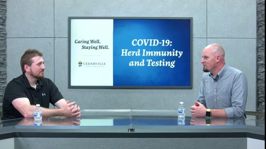 View thumbnail for Caring Well. Staying Well. | Herd Immunity and Testing