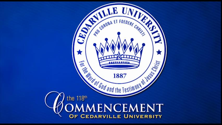 View thumbnail for The 118th Commencement of Cedarville University