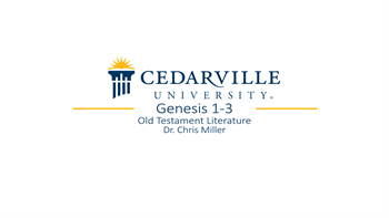 View thumbnail for Genesis 1-3