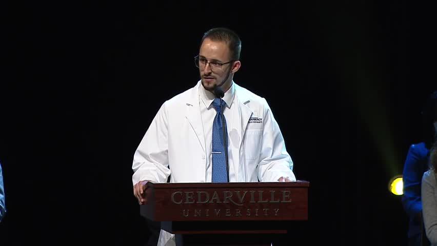 View thumbnail for The Heart of a Cedarville University Pharmacist