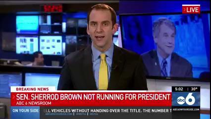 View thumbnail for Sen. Brown Says No to White
