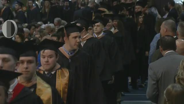 View thumbnail for The 123rd Commencement of Cedarville University