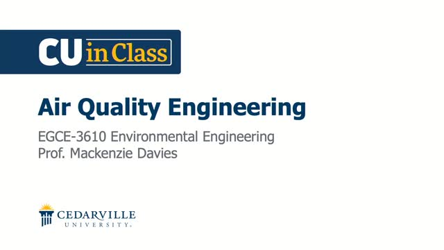 View thumbnail for Civil Engineering – Environmental Engineering