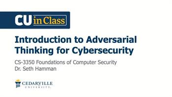View thumbnail for Cybersecurity – Foundations of Computer Security