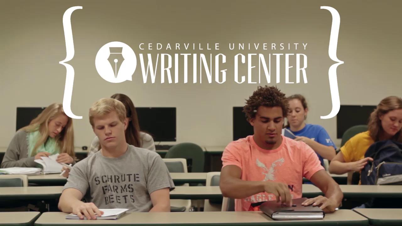 View thumbnail for The Writing Center