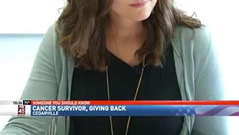 View thumbnail for Pharmacy Student Beats Cancer, Helps Others