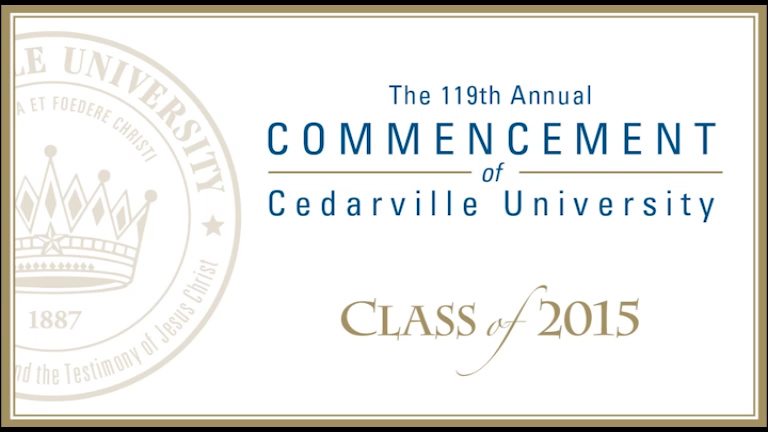 View thumbnail for The 119th Commencement of Cedarville University