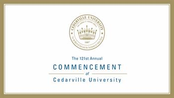 View thumbnail for The 121st Commencement of Cedarville University