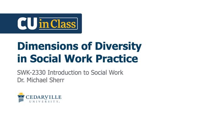 View thumbnail for Social Work – Introduction to Social Work