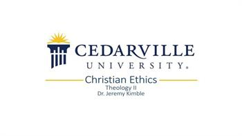 View thumbnail for Theology II: Christian Ethics