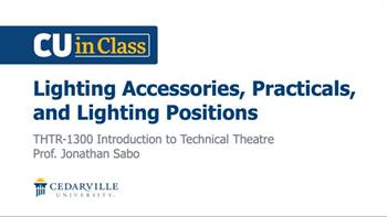 View thumbnail for Theatre – Introduction to Technical Theatre