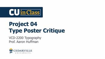 View thumbnail for Design – Typography