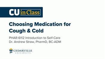 View thumbnail for Pharmacy – Introduction to Self-Care