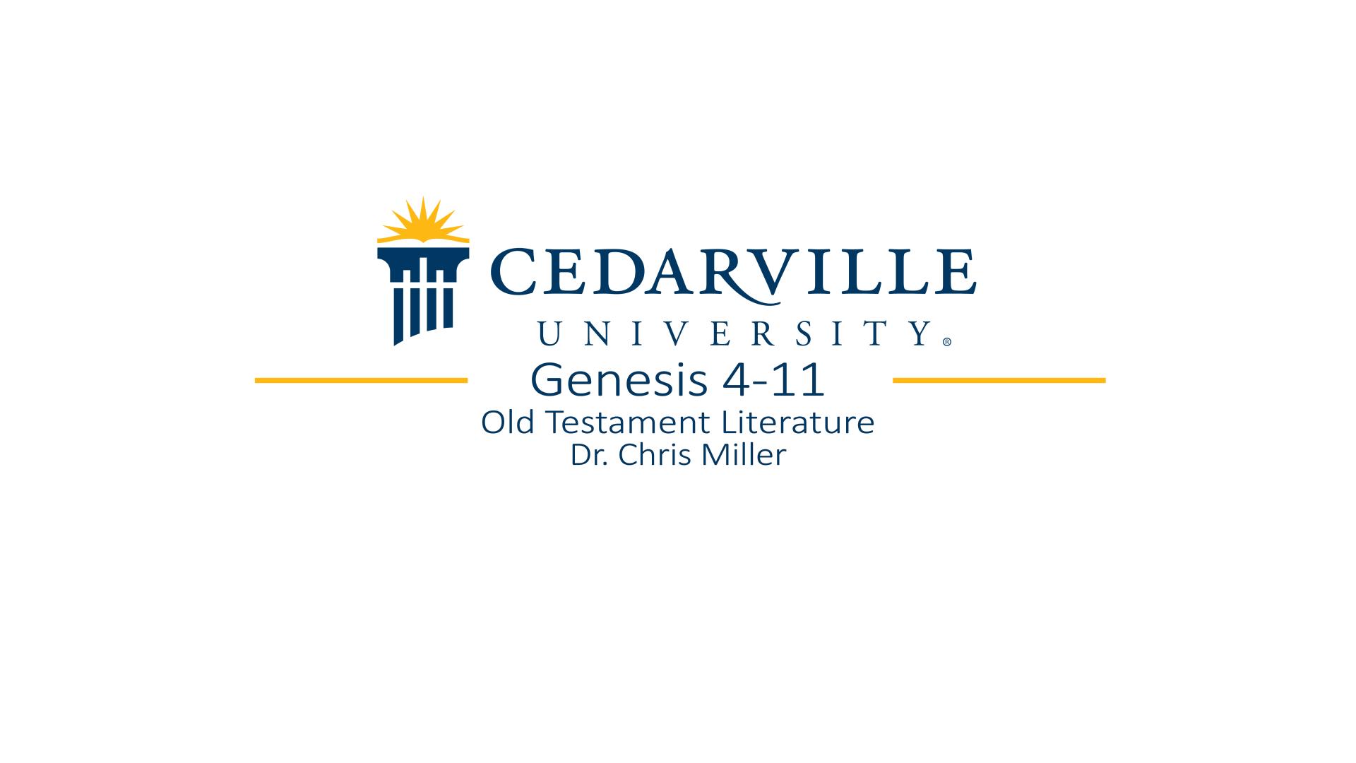 View thumbnail for Genesis 4-11
