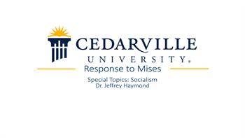 View thumbnail for Response to Mises