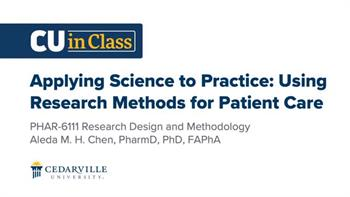 View thumbnail for Pharmacy – Research Design and Methodology