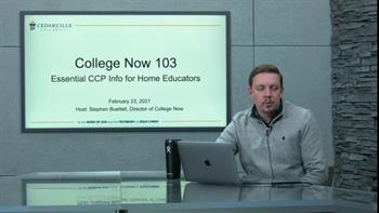 View thumbnail for College Now 103: CCP Info for Home Educators