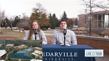 View thumbnail for Live Tour of Cedarville's Campus