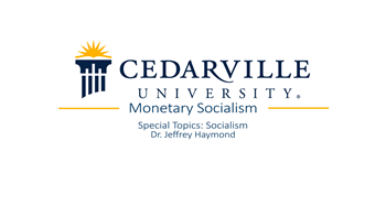View thumbnail for Monetary Socialism