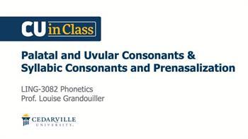 View thumbnail for Linguistics – Phonetics