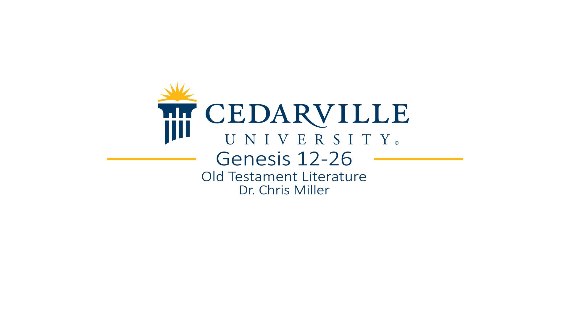 View thumbnail for Genesis 12-26