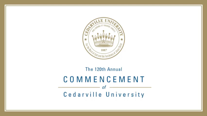 View thumbnail for The 120th Commencement of Cedarville University