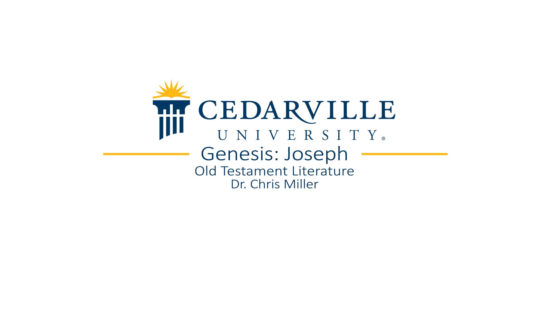View thumbnail for Genesis: Joseph
