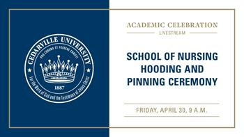 View thumbnail for School of Nursing Hooding and Pinning Ceremony