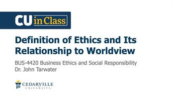 View thumbnail for Business – Business Ethics and Social Responsibility
